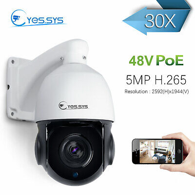 52601641b8d 4 INCH H.265 5MP PTZ IP Camera Outdoor 30X Zoom IR 50M Network Speed ...