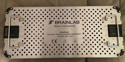 Brainlab Spine Instruments Sterilization Case Pristine & Perfect FREE US SHIP!
