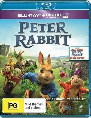 Peter Rabbit - Blu-ray - NEW & Sealed 2018 - Region B AUS + Digital