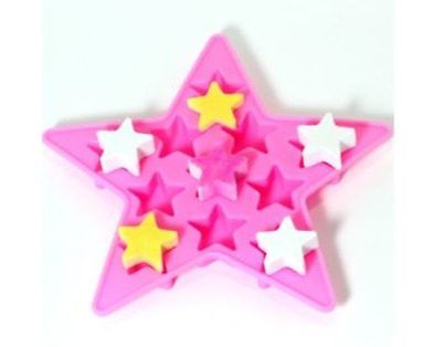 Star (Mini) Multi Silicone soap Mould plaster Mold