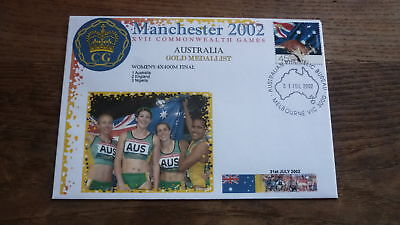 2002 Australian Commonwealth Games Gold Medal Win Cover, Womens Relay Team