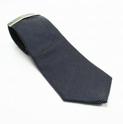 Club Room NEW Blue Wyatt Non Solid Textured Men's Silk Woven Neck Tie $52 306