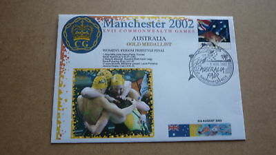 2002 Australian Commonwealth Games Gold Medal Win Cover, Womens Swimming Team 1