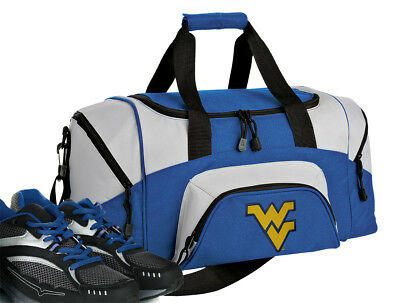 WEST VIRGINIA MOUNTAINEERS Duffel Travel Bag Sports Duffel Bag Flyby ... e110383712d22