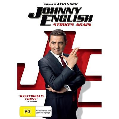 Johnny English Strikes Again (2018, DVD)