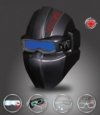 SERVORE Arcshield-2 with Visor in Black Color.  Made in KOREA NEW  Fast Shipping