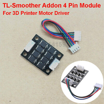 4* TL-Smoother Kit Addon Module Tree Tech 4 Pin Driver Fits for 3D Printer Motor