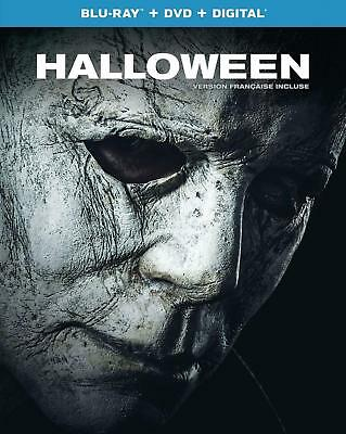 Halloween Blu-ray DVD Digital + Slipcover 2019 New Fast Ship (STEF-348 /STEF-08)