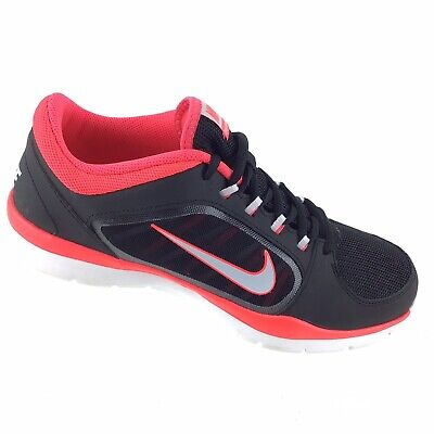 21ff7cc89a66 Nike Flex Trainer 4 Running Athletic Shoes 643083-002 Black Pink Women s  9.5 R68