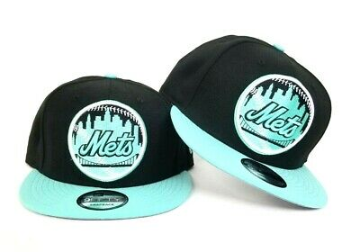 9ef056fe68dca New Era New York Mets 9fifty Snapback Hat For Island Green Foamposite