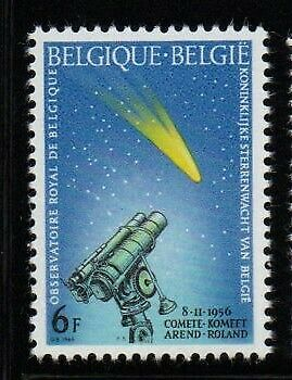 BELGIE-BELGIQUE COMETE 6f 1966 MINT UNHINGED  STAMP
