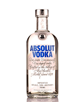 Absolut Vodka 40% 700ml FAST DELIVERY & FREE SHIPPING