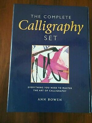 The Complete Calligraphy Set Ann Bowen NEW Incl pens,ink Etc