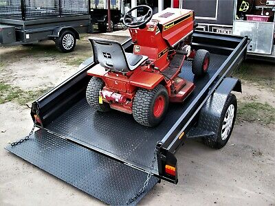 Aussie Built 8X5 H/D Tilt / Ramp Golf Cart Quad Bike Ride on Mower Trailer.