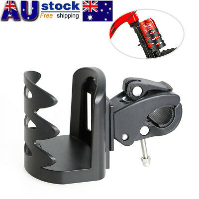 Black Drink Cup Holder Mount Cradle For Bike Motorcycle Scooter Bicycle Road AU