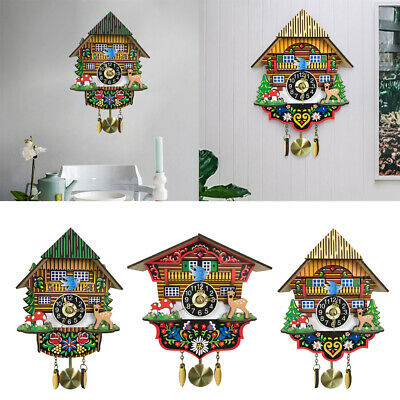 Cuckoo Clock Pendulum Wall Clock Decorative Clock for Living Room/Cafe