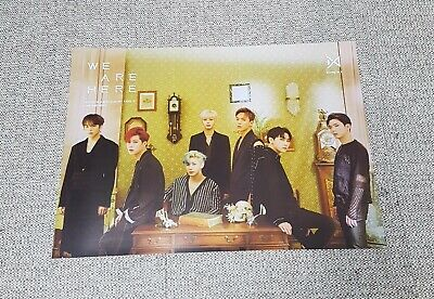K-POP MONSTA X 2nd Album [TAKE.2 WE ARE HERE] C Ver. OFFICIAL POSTER -NEW-