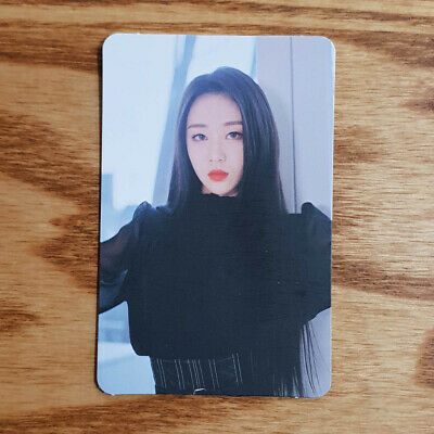 Yves Official Photocard Loona Mini Repackage X X Monthly Girl Kpop Genuine