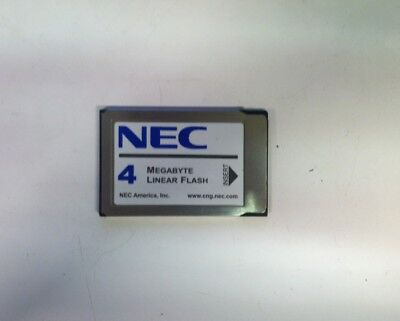 NEC PM031103 4MB PC Laptop/Notebook Linear Flash Memory Card PCMCIA