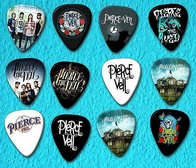 PIERCE THE VEIL  Guitar Picks *Limited Edition* Set of 12