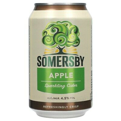 Somersby Apple Cider 4,5% 24x0,33 ltr. inkl. Pfand