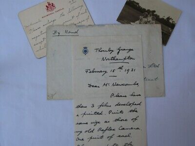 Wonderful Royal  Prince Albert (Later King George VI) Hand Written Collection.