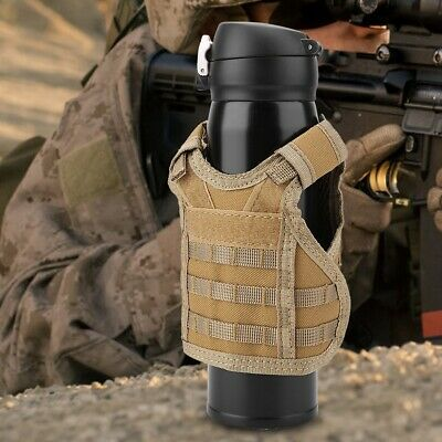 Military Mini Tactic Beer Vest for Water Bottle Cans Beverage Decoration Cover