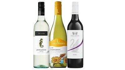 Summer BBQ Mixed White & Red Wine Trial Pack 3x750mL - FAST & FREE DELIVERY