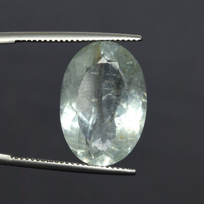 13.0 Ct. Certified Natural Oval Cut Aquamarine Faceted Loose Gem For Ring DZ-249