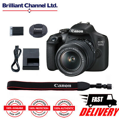 Canon Digital SLR Camera EOS 1500D with EF-S 18-55mm f/3.5-5.6 IS II Lens Kit