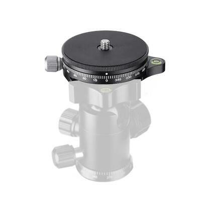 Fc-60 360° Tripod Quick Release Plate Panorama Panning Base Head Clamp For Dslr