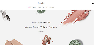 Website Ready - Beauty Website For Sale