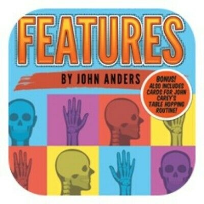 Features By John Anders and Alakazam Magic