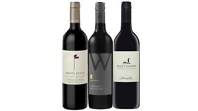 AU Best Selling Brand Cabernet Sauv Wine Pack 3x750mL - FREE SHIPPING