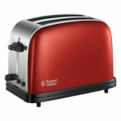 Russell Hobbs Colour Plus 2 Slice Toaster Variable Browning RED – 23330