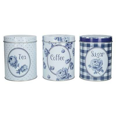 3er Set Vorratsdosen Katie Alice VINTAGE Coffee, Tea & Sugar Creative Tops