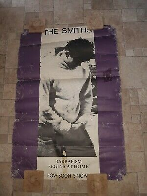 The Smiths Original How Soon Is Now Poster