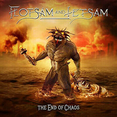 Flotsam And Jetsam The End Of Chaos CD Digipak 2019 Thrash Metal New Sealed
