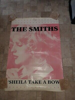 The Smiths Sheila Take A Bow Poster Original