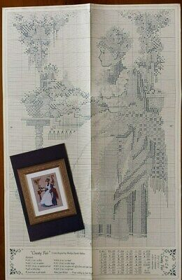 County Fair Cross Stitch Chart by Lavender & Lace Very Good Condition
