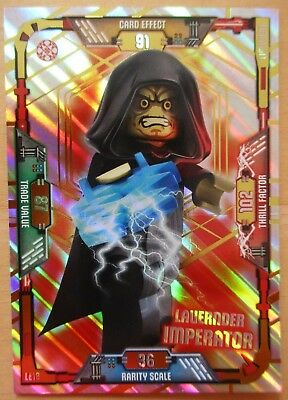 Lego Star Wars-Trading Cards-Serie 1 - Lauernder Imperator - LE18 Limitierte