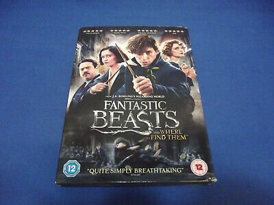 Fantastic Beasts and Where To Find Them dvd 2016