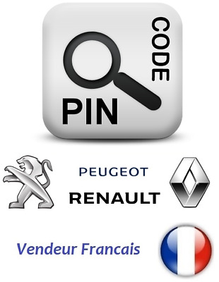IMMO & PIN code Calculator solution Software Renault / DACIA