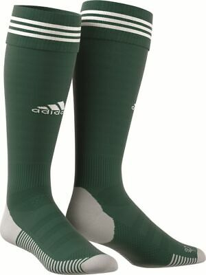 Adidas Football Soccer AdiSock 18 Knee Socks Green White