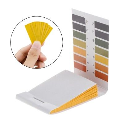 Aquarium Pond 80 Pcs Test Paper 1-14PH Solution Strips Litmus Tool Kit Indicator