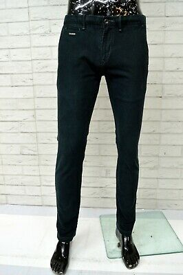 Pantalone Chino GUESS Uomo Taglia Size 32 Jeans Pants Trousers Man Slim Fit