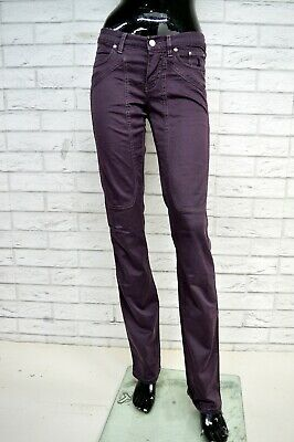 Pantalone JECKERSON Donna Taglia Size 27 Jeans Pants Trousers Woman Regular Fit