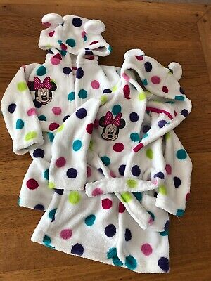 Twin Girls Dressing Gowns 6-12