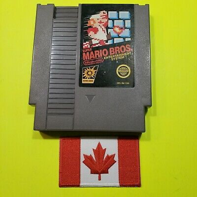 Super Mario Bros. Black box (Nintendo Entertainment System, 1985) nes