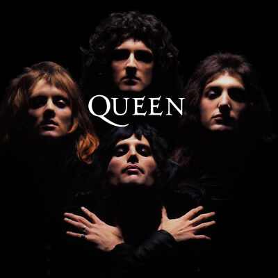 Bohemian Rhapsody Queen Freddie Mercury Rock Roll Art Poster Music Album Cover